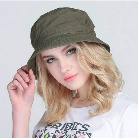 Outdoor casual fishing bucket hat UV protection sun hats package
