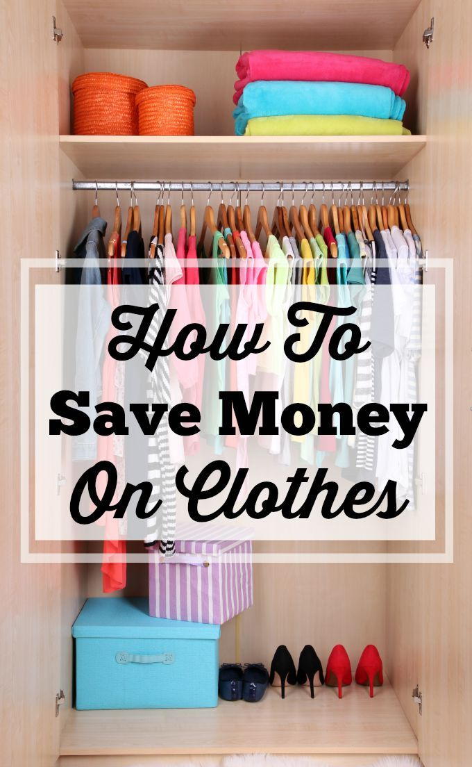 How To Save Money On Clothes Without Busting Your Budget! Simple tips to help you plan when and where to purchase clothes so you're not busting your budget.