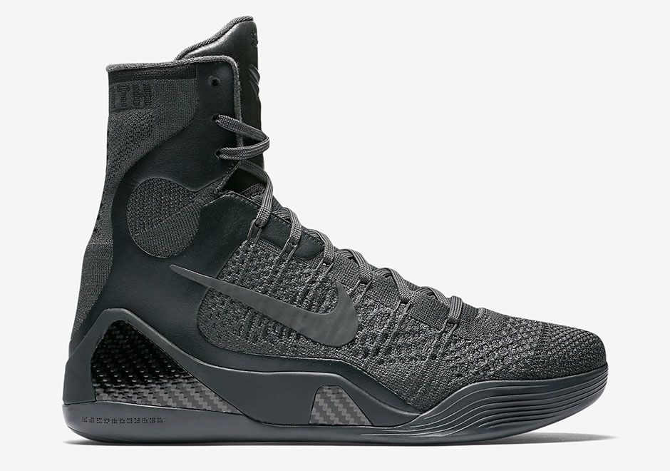 black kobe shoes