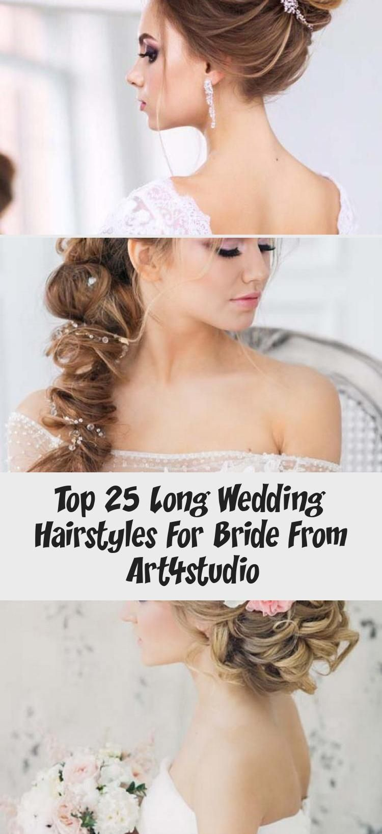 Top 25 Long Wedding Hairstyles For Bride From Art4studio
