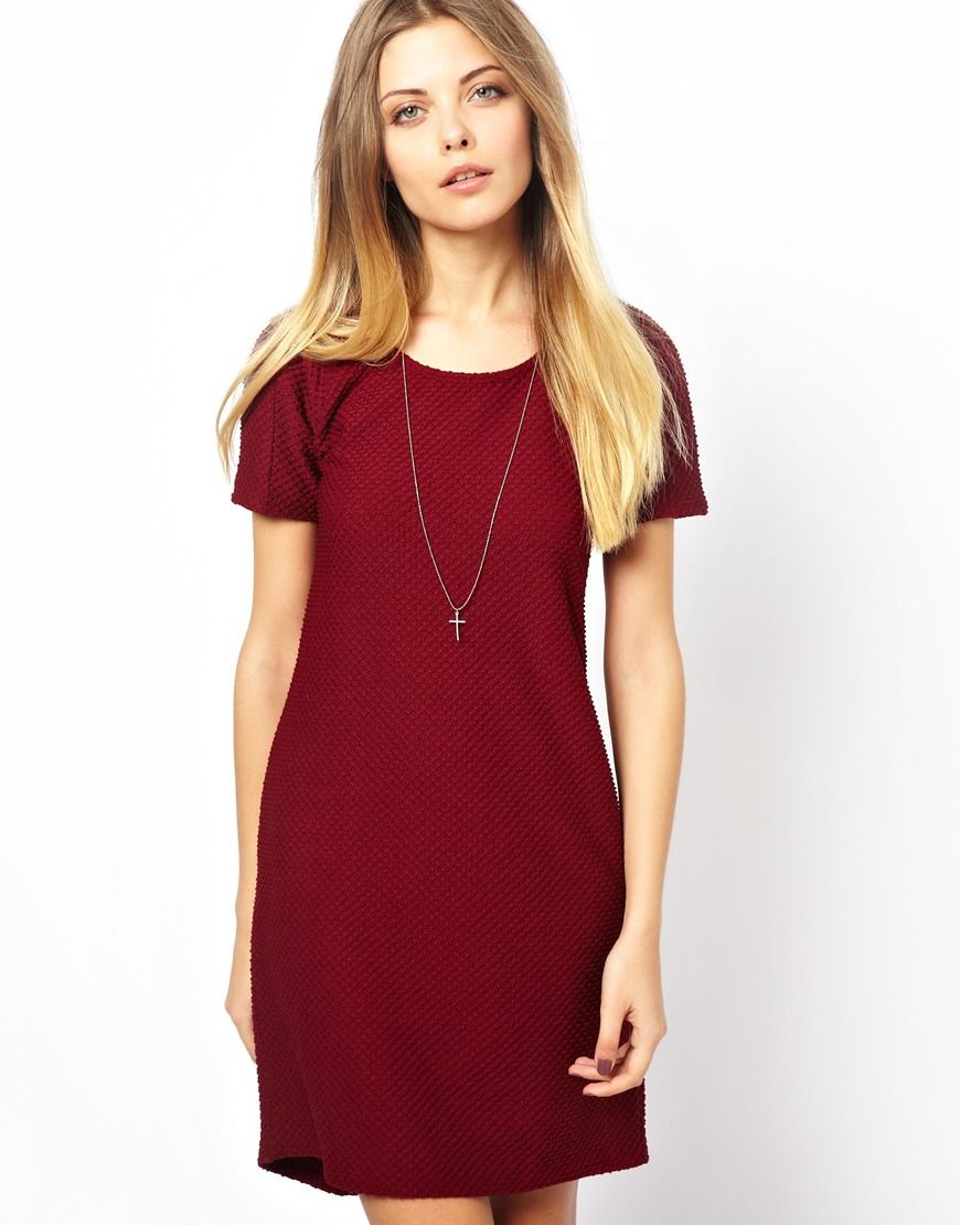 Red T Shirt Dress | Dresses | Pinterest | T shirts, Shirts and Red ...