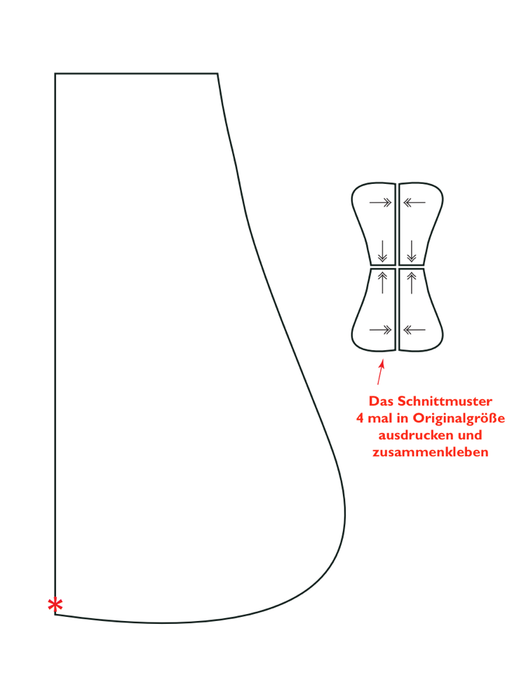 Dekoration Leseknochen nähen – Tipps, Anleitung und Schnittmuster ...