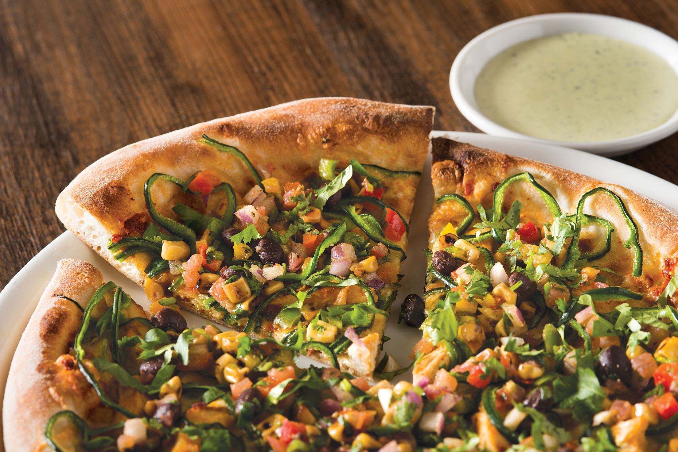 spicy chipotle chicken pizza on hand tossed dough cpk cpk