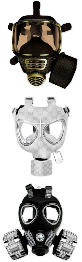 Designer gas masks become all the rage in The Patron Saint ...