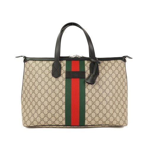 2a4115e3612a33 eBay #Sponsored Auth Gucci GG supreme Duffle Bag 359261 Men's 2way Shoulder  Bag Tote Bag