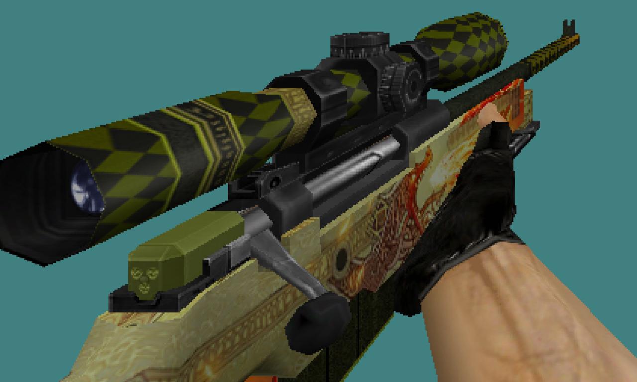 Cs 1 6 Dragon Lore Default Skins Pack Default Dragon Skin