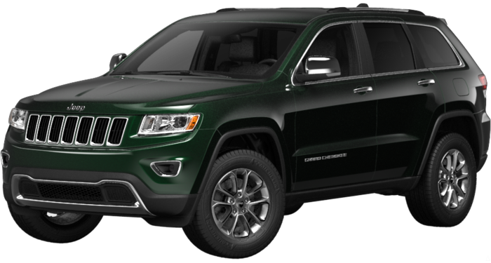 My Dream Ride A Jeep Grand Cherokee Limited 4x4 In Forest Green