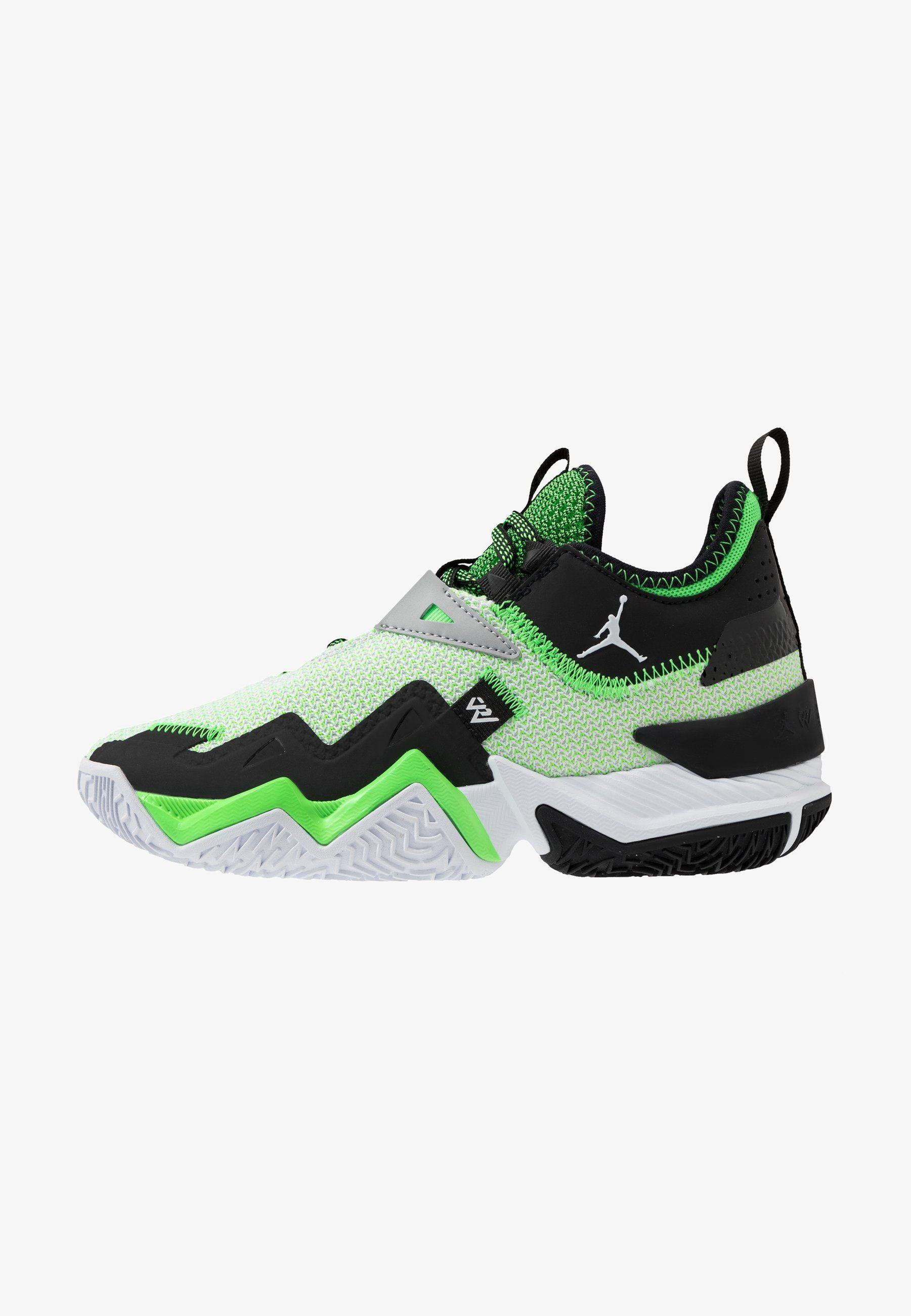 Jordan Westbrook One Take Unisex Obuwie Do Koszykowki White Black Rage Green Bialy Zalando Pl Sneakers Nike Shoes Sneakers