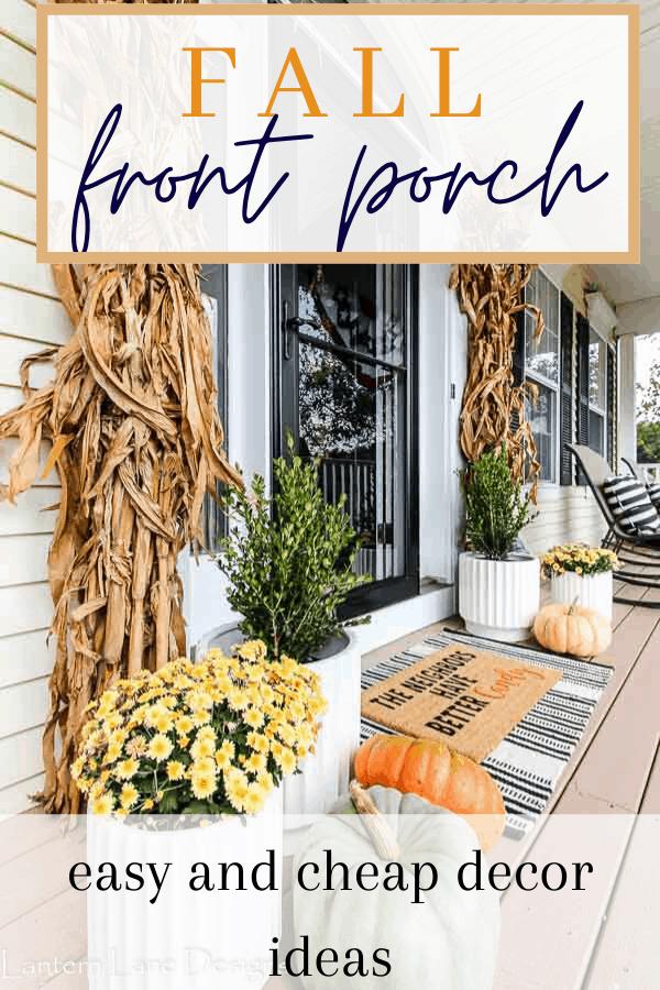 Fall Front Porch Decor Ideas Fall Front Porch Decor Fall Front Porch Front Door Fall Decor