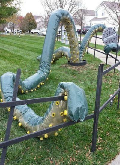 Cool Outdoor Halloween Decorations Outdoor halloween decorations