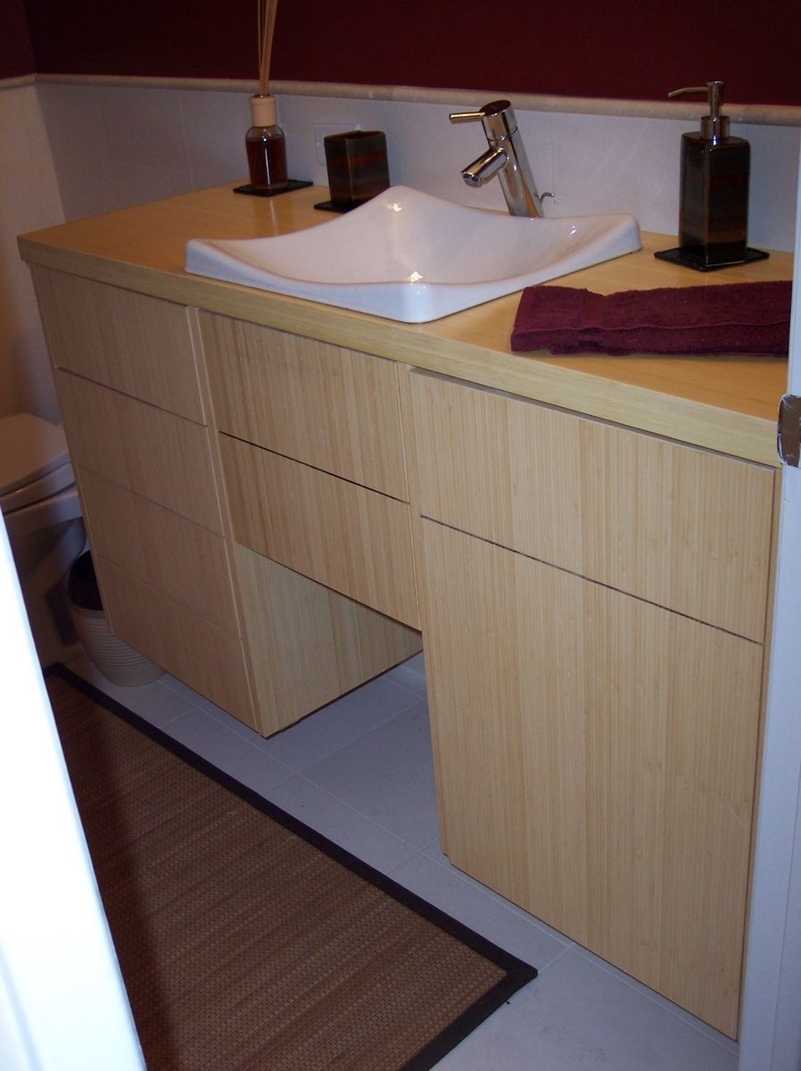 Bamboo bathroom vanity products i love pinterest bamboo