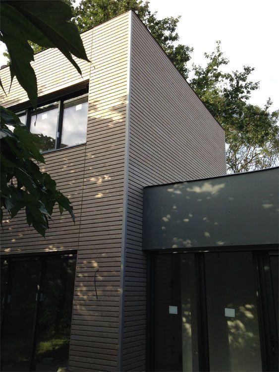 Une maison à ossature bois construite aux Sorinières (44) par You et - faire une extension de maison