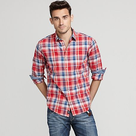 Tommy Hilfiger Men S Shirt Our Vintage Fit Shirt In An