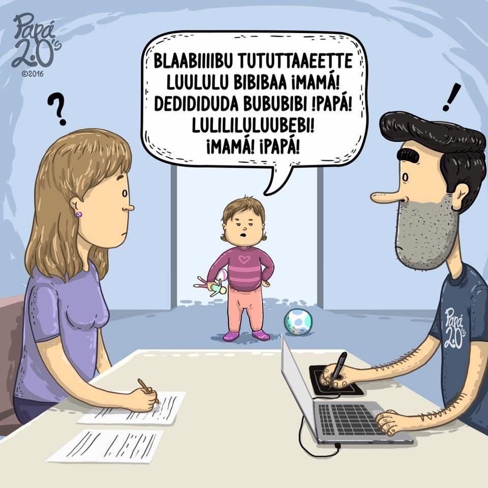 Papa 2 0 08 Una Mama Novata Humor De Papa Humor Del Embarazo Y