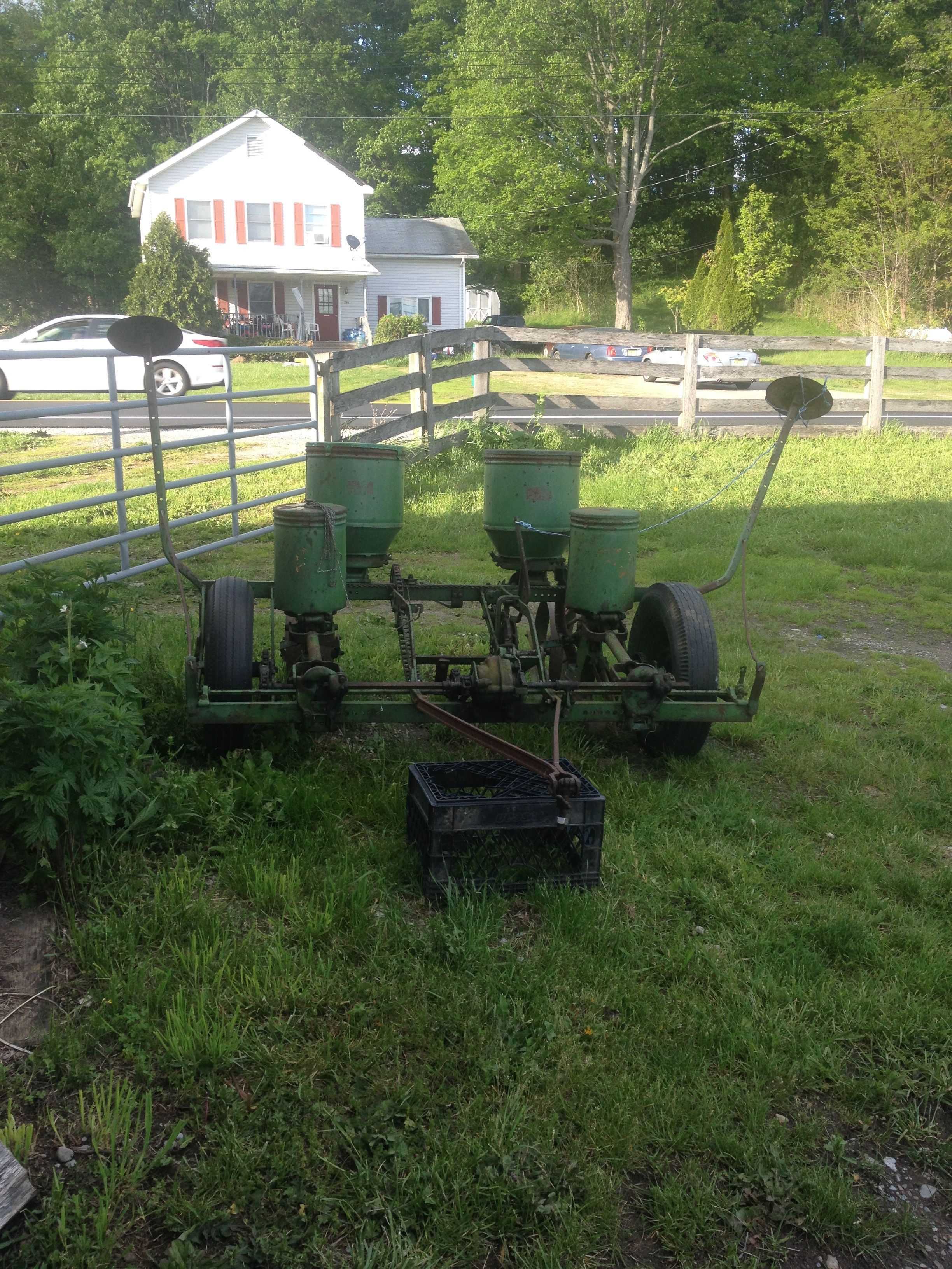1956 John Deere Model 290 Planter With Fertilizer Option And Row