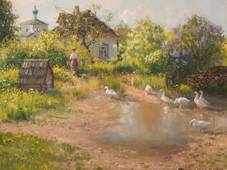 Vladimir Zhdanov: biography and paintings of the artist 41
