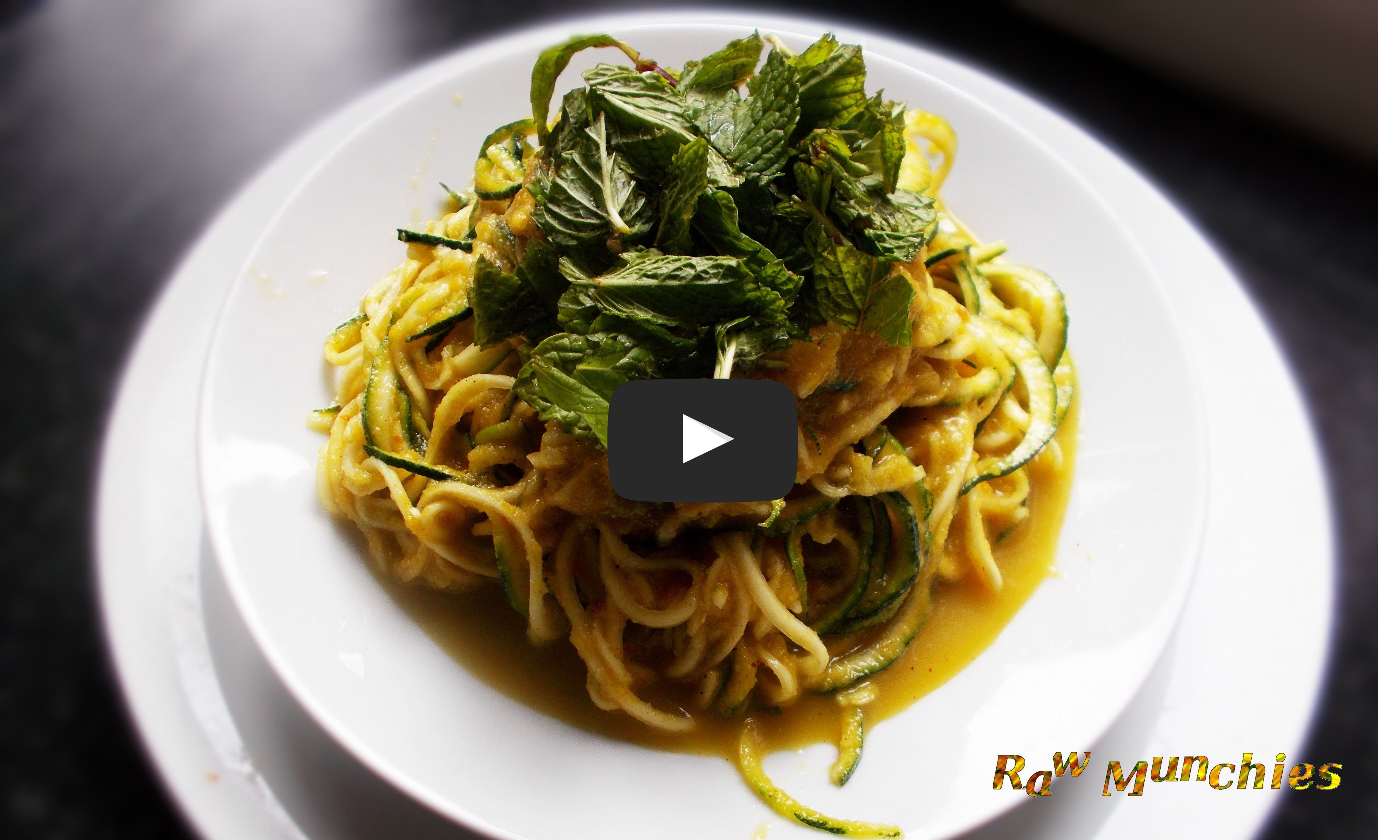 Raw Vegan Indian Curried Noodles | Rawmunchies.org | Raw Vegan Recipes Video: https://www.youtube.com/watch?v=9ets2wfi5qQ More here: http://ift.tt/2ugzNS5 . . . . .#Raw #Vegan #RECIPE #Youtube #Video #Rawmunchies #rawvegan #glutenfree #youtubevideo #youtuberecipe #youtuber #rawvegannoodles #indiannoodles #rawveganindianfood #zucchinninoodles #pasta