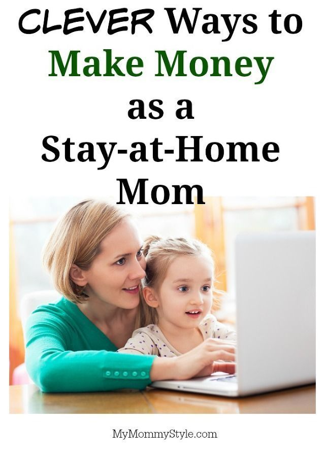 Awesome list of ways to make money as a stay at home Mom! I\'d love ...