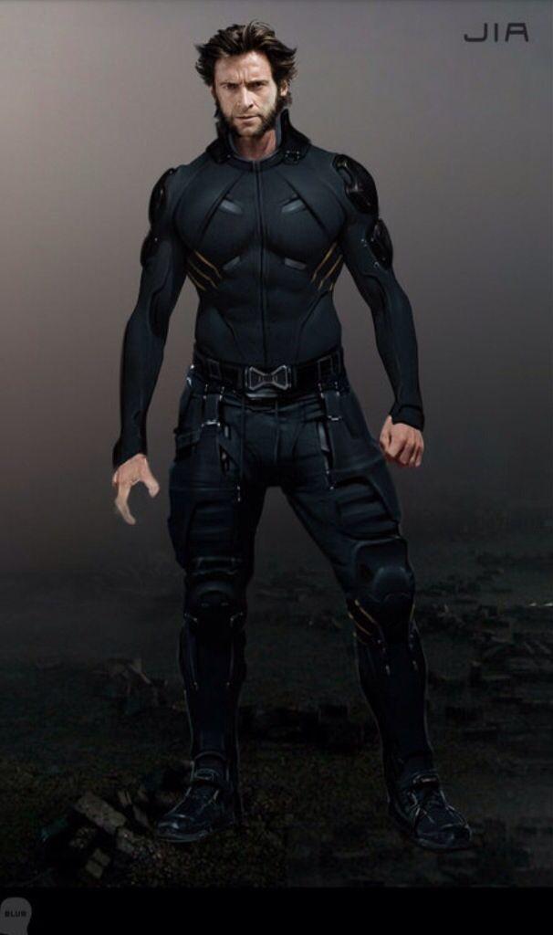 Concept Art Of Wolverine From X Men Days Of Future Past 2014 Wolverine Marvel Wolverine Hugh Jackman Marvel Superheroes