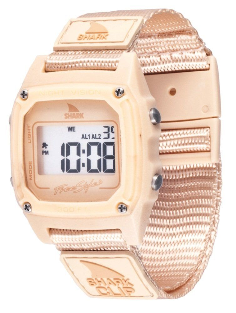 Freestyle FS84977 Shark Clip Classic Retro Television Screen Case Digital  Watch  Watches  Amazon.com ced16f9a81