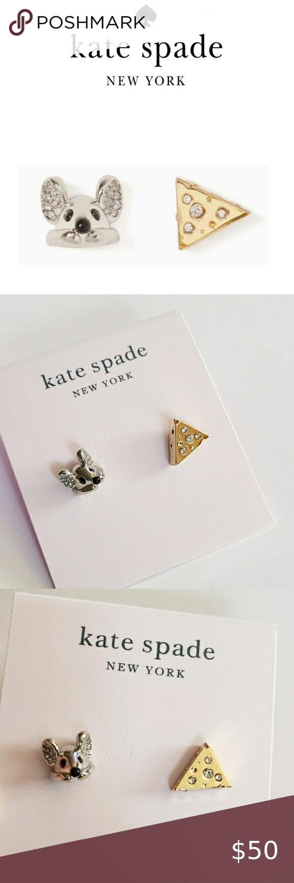 Kate Spade ♠️  Year of the Rat Stud Earrings Kate