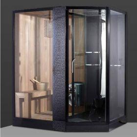 Cabine de douche sauna hammam flora 1800 paroi de douche - Cabine douche hammam sauna ...