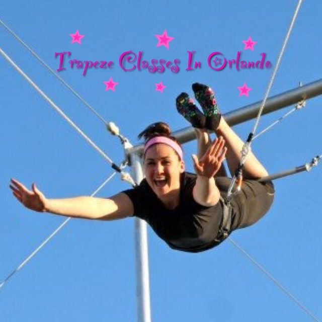 That time I took learned how to fly on the trapeze at Trapeze Federation..