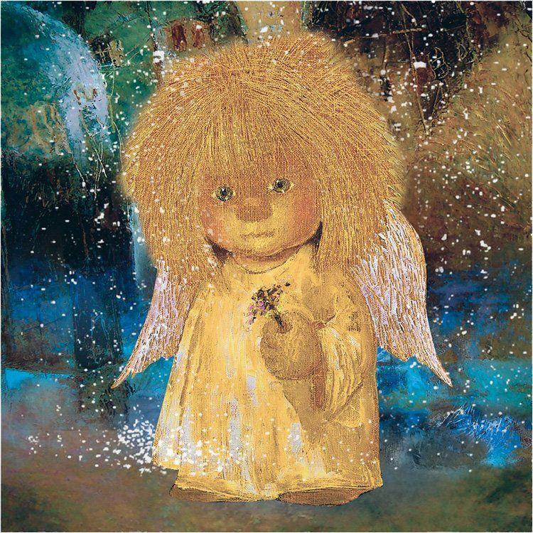 Прикольный картинки с ангелами, открытка