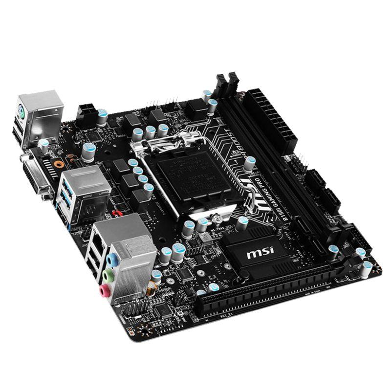 Msi Original B150i Gaming Pro Lga1151 Interface Computer Motherboard Mini Itx Motherboard Computer Cpu