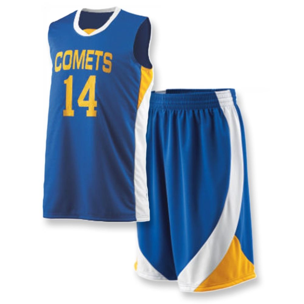a03202cc618 Basketball Uniform Art No: MS-1310 Size: S/M/L/XL/XXL Colours: Red,Green, Blue,Pink,Yellow,White,Black & Orange MOQ: 10 Pieces Blue Custom  Sublimation ...