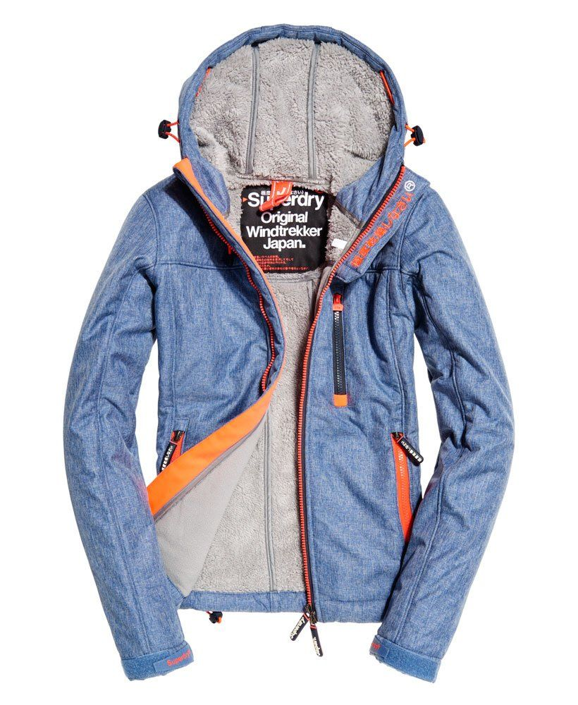 Superdry Hooded Winter Windtrekker Jacket | Jackets, Women