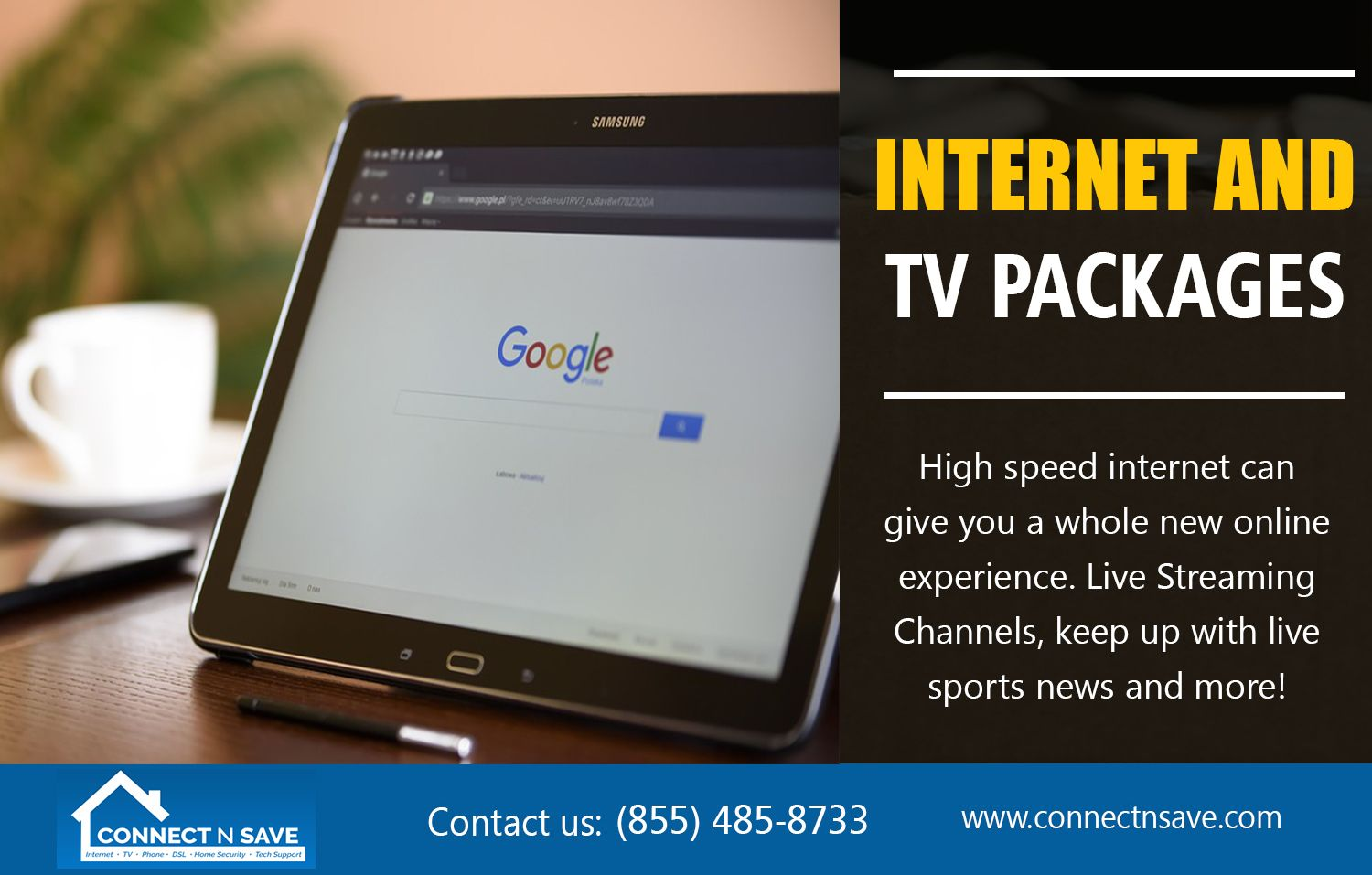 Internet And TV Packages to meet your needs at a price you