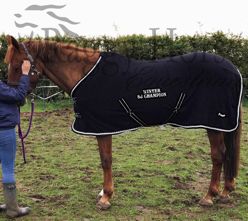 Personalised Elite Fleece Horse Rug