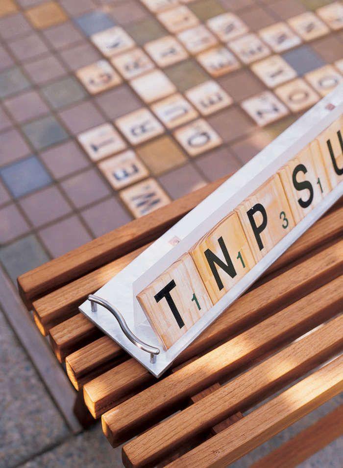 Garden Games Backyard Projects Outdoor Scrabble Backyard