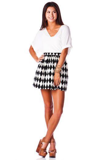 Dartford Printed Skirt