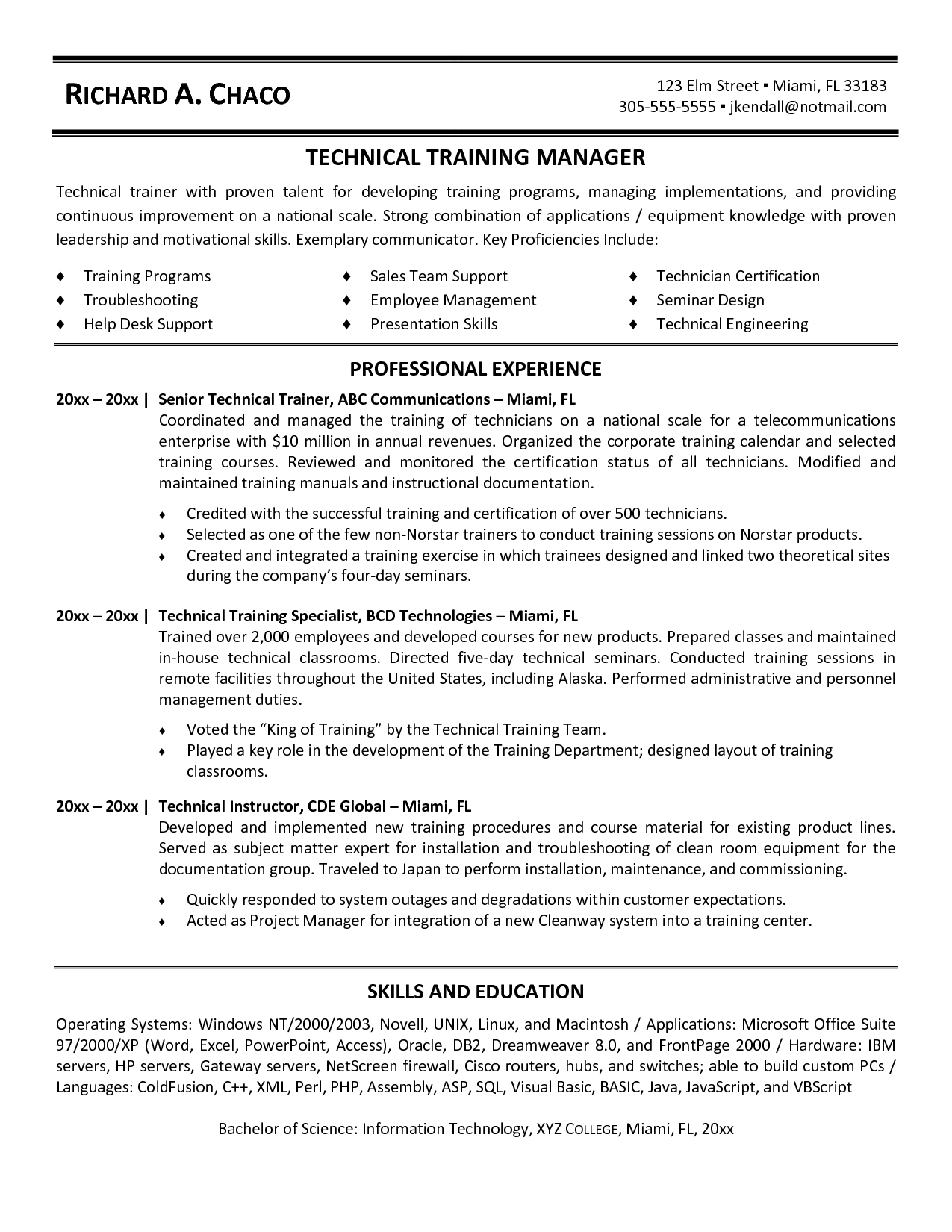Sample Admin Resume Pdf Systems Administrator System Samples Sql