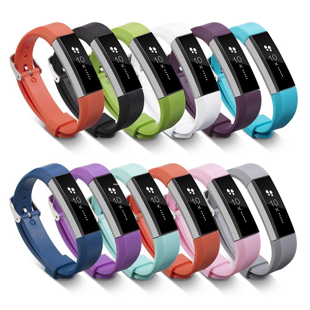 Neue TPE Armband Armband mit Sicheren Fasterner Hohe Qualität Metallklammern für Fitbit Alta Bands Wrist Smartwatch BD025 //Price: $US $1.55 & FREE Shipping //     #clknetwork
