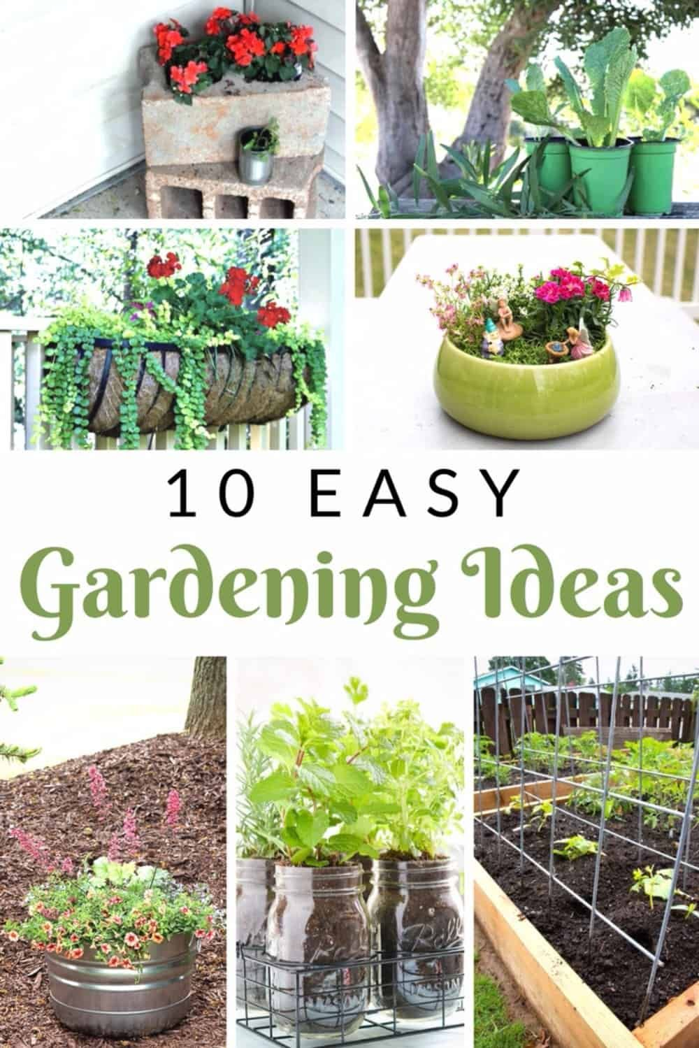 10 Absolutely Crazy Easy Diy Gardening Ideas You Must Try Easy