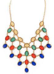Jewel Cascade Necklace