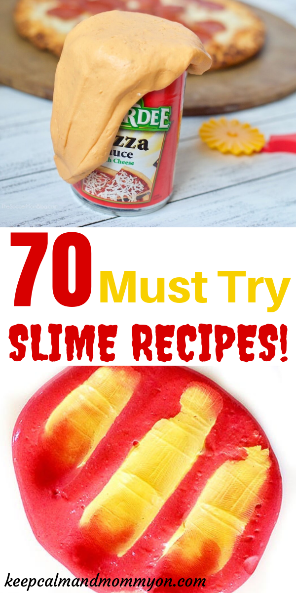 The Ultimate Slime Recipe List! #edibleslime