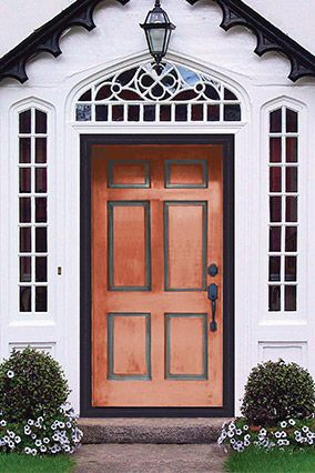 6 Ways To Upgrade Your Home This Weekend Painted Front Doors