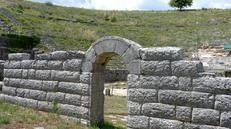 Archaeological site of Dodona, near Ioannina - dated back to 2,000 BC by Herodotus, this ancient temple was originally built to honour Gaia, but was later devoted to Zeus. It even features as a place of worship for Achilles in Homer's 'The Iliad'.