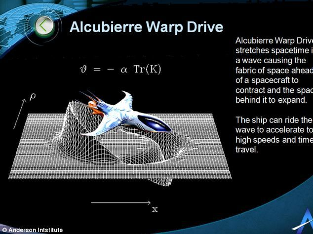 Ready for warp speed? NASA scientists take first steps to building faster-than-light warp engine that could make Star Trek a reality!