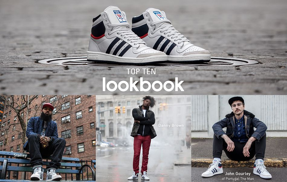 Adidas Top Ten Hi | Kicks shoes, Adidas sneakers, Dress