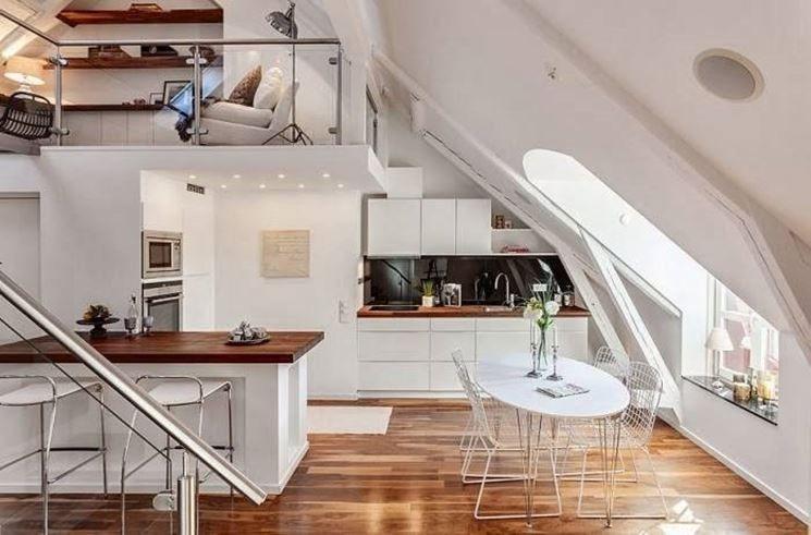 mansarda moderna | Appartamento attico, Appartamenti loft e ...