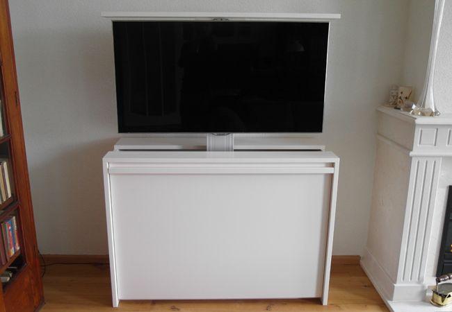 tv meubel met elektrische lift   TV meubel met lift   Pinterest ...