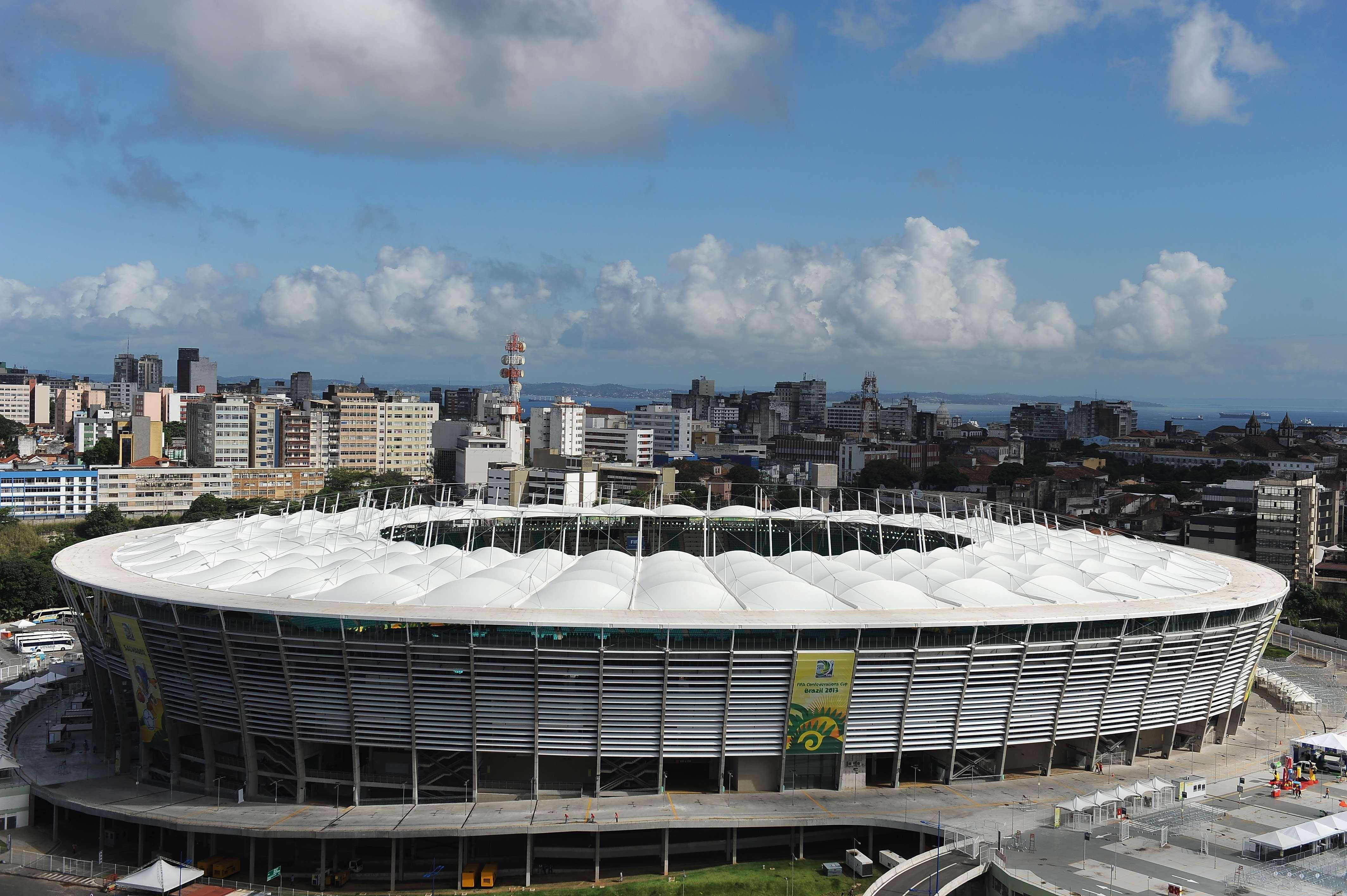Sedes da Copa - Itaipava Arena Fonte Nova - http://esportes.terra.com.br/futebol/copa-2014/arena-fonte-nova