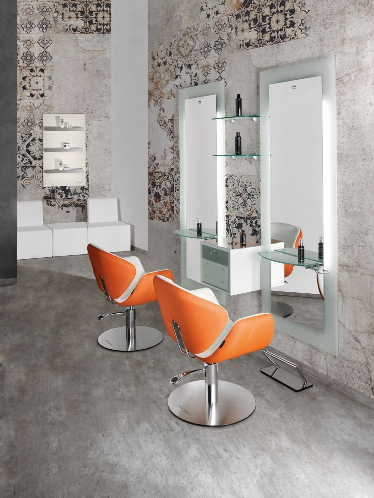 Olimpia line salon ambience hairdressing furniture for Arredamento per parrucchieri
