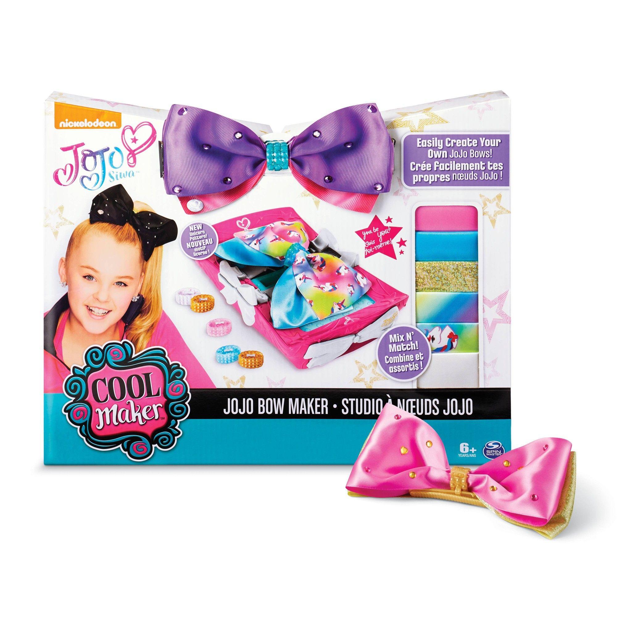 2 Mini Bows//beanie cute Comb Nickelodeon JoJo Siwa Hair Accessory Set in Box