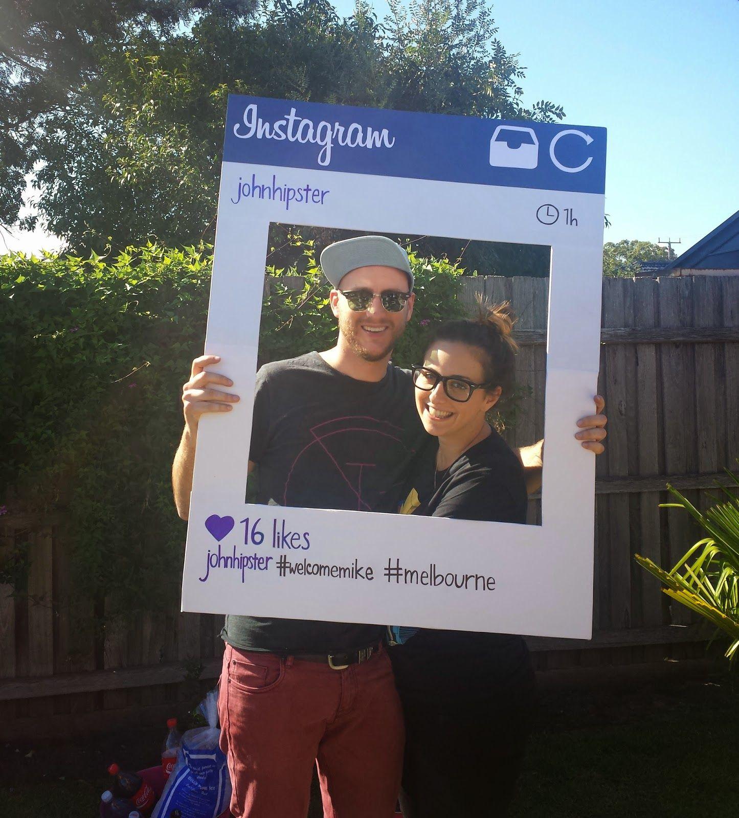 Covets & Cassandra: DIY: Life size Instagram frame | Relay For Life ...